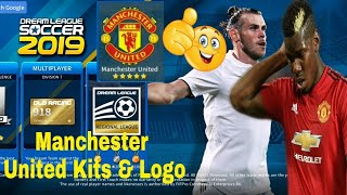 How To Create Manchester United Kits & Logo | Dream League Soccer 2019