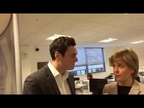 Selfie Stick Interview With Nicola Sturgeon About Herself