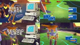 100ft Robot Golf - 100ft Robot Golf (PC) Gameplay: 4P1C Challenge and Strokerun - User video
