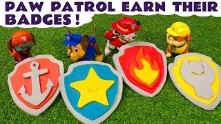 Paw Patrol Play Doh Stop Motion Badges and Logos with Minions at McDonalds Drive Thru & Thomas TT4U