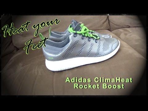 telar Retener Frente al mar  Adidas ClimaHeat Rocket Boost - YouTube