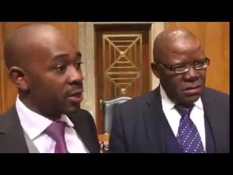 Biti & Chamisa: MDC Agenda in US