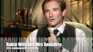 Robin Williams interview with Jimmy Carter  Mrs Doubtfire 1993