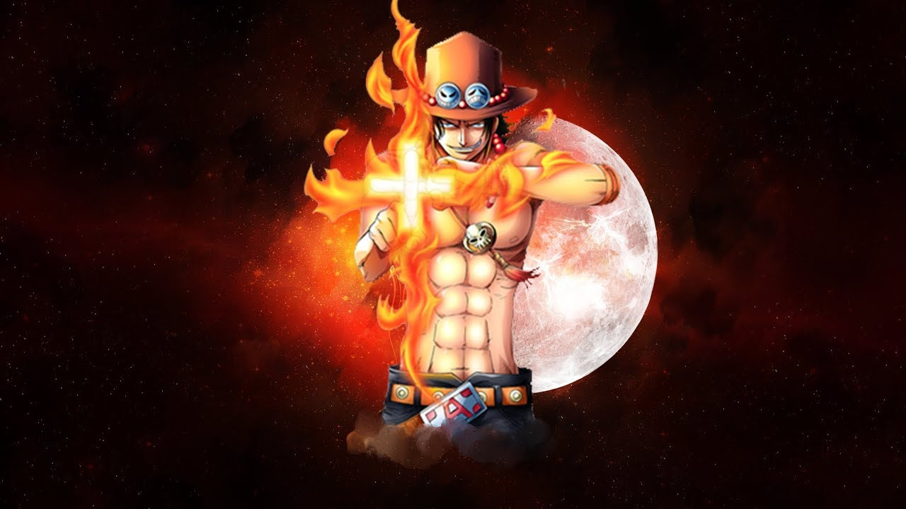 One Piece Wallpaper Ace