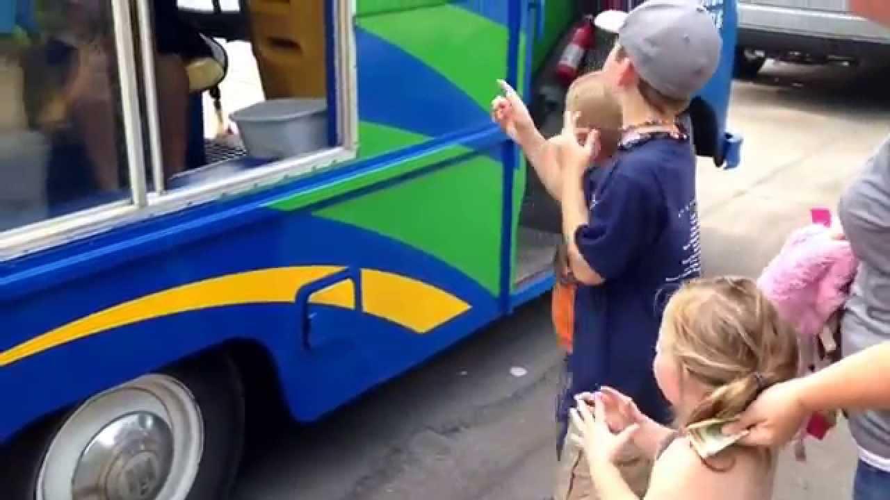 Ice cream truck. Brain freeze. University Park, Grand ...