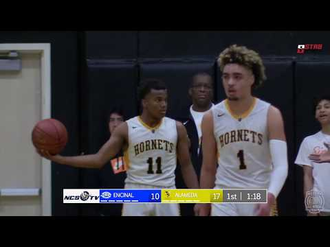 Encinal vs Alameda High School Boys Basketball LIVE 2/2/19 2