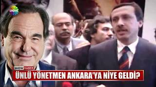 Ünlü yönetmen Ankara'ya niye geldi?