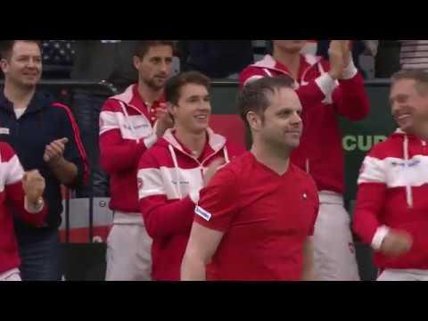 Highlights: Switzerland 1-3 Russia   Davis Cup Qualifiers 2019