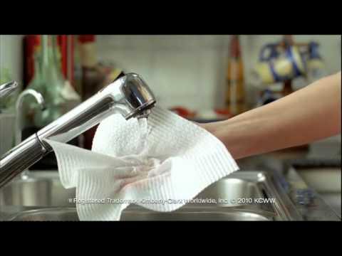 viva paper towel 2010 ad youtube