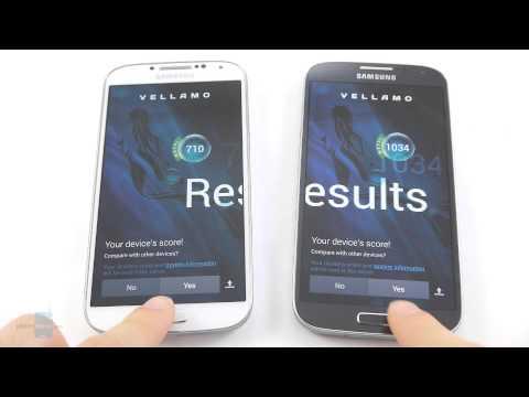 Galaxy S4 (Snapdragon 600) vs Galaxy S4 (Exynos 5 Octa): Benchmark comaprison