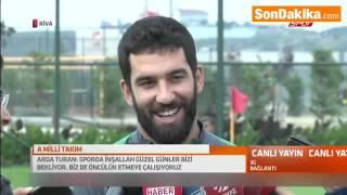 Arda Turan'dan, Van Persie ve Sneijder'e, Yanıt