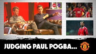 Keane and Neville | Gary compares Pogba to Roy, Beckham, Rooney, Robson | #MUFC