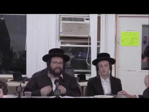 ר' יואל ראטה - סיום תענית 101 של הבה''ח אלחנן חיים ראטה - ה' פנחס תשע''ט - R' Yoel Roth