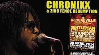 Chronixx & Zinc Fence Redemption - Here Comes Trouble  @ Reggaeville Easter Special in Hamburg 2014