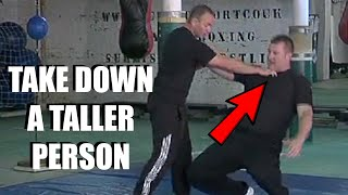 TAKE OUT A HUGE ATTACKER *Iron Fist* | Sifu Steven Burton