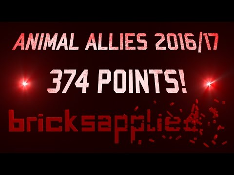 FLL Animal Allies 2016/17 - 374 Points! || CE-Final