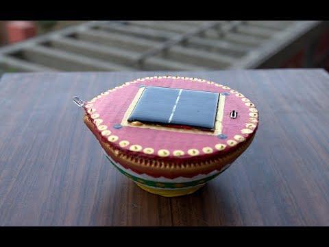 DIY Solar Powered Diya || Solar Light For Christmas || How to Make Eco-friendly Diya