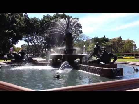 Sydney Archibald Memorial Fountain Hyde Park - Australia HD 01