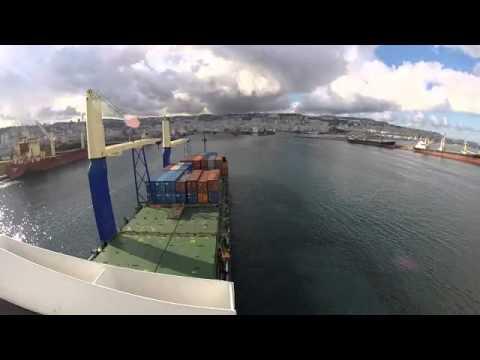 Algeria Algiers A Ship Berthing