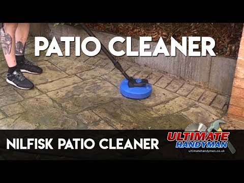 How to connect a garden hose to a nilfisk pressure washer