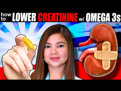 How To Use OMEGA 3 Fatty Acids To Lower Your CREATININE Levels (Fast)