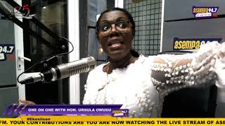 Election 2020: Mahama knows he will lose; he is just coming to try his luck - Ursula Owusu
