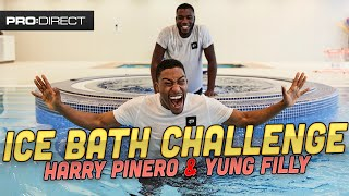 YUNG FILLY AND HARRY PINERO NEARLY FREEZE | ICE BATH CHALLENGE