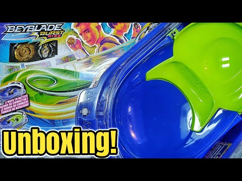 Beyblade Burst Rise VORTEX CLIMB BATTLE SET by Hasbro - Review & Unboxing - Let's go HyperSphere!