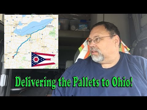 Delivering the Pallets to Washington Court House, Ohio