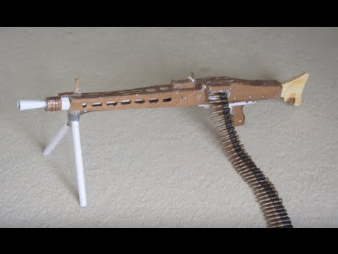 Cardboard MG-42 Light Machine Gun