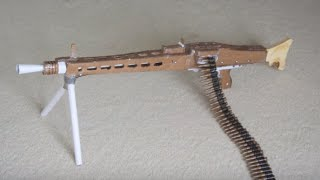 MG-42 LMG (Paper Gun Of The Week)