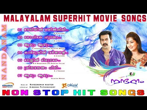 Nandanam |Raveendran |K.J Yesudas|K.S Chithra Malayalam Movie Audio Songs 2017