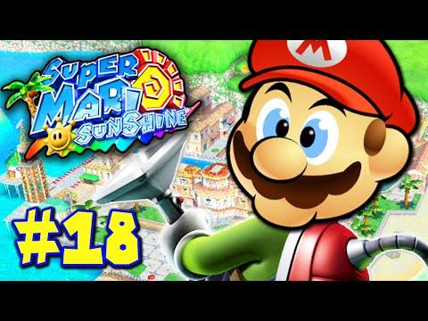 Super Mario Sunshine Part 18 - MARO'S MANSION!
