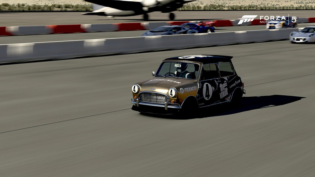 Forza 5 Mini Cooper S Drag - YouTube
