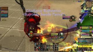 Bajheera - Warrior Tips: Dealing with RMP/WMP in 3v3 Arena - WoW Legion 7.2 PvP