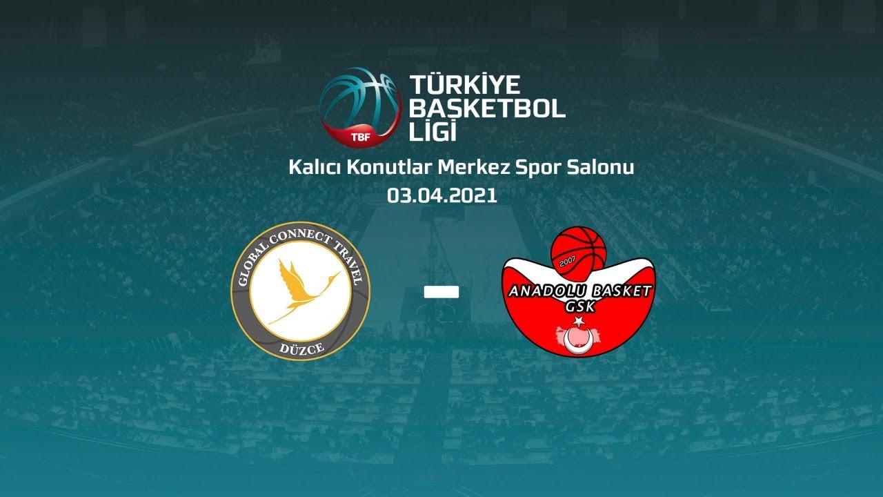 Global Connect Travel Düzce – Ankara Anadolu Basket TBL 25.Hafta