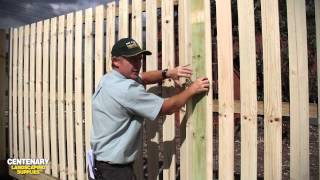 Fence Building - How to Build a Timber Fence