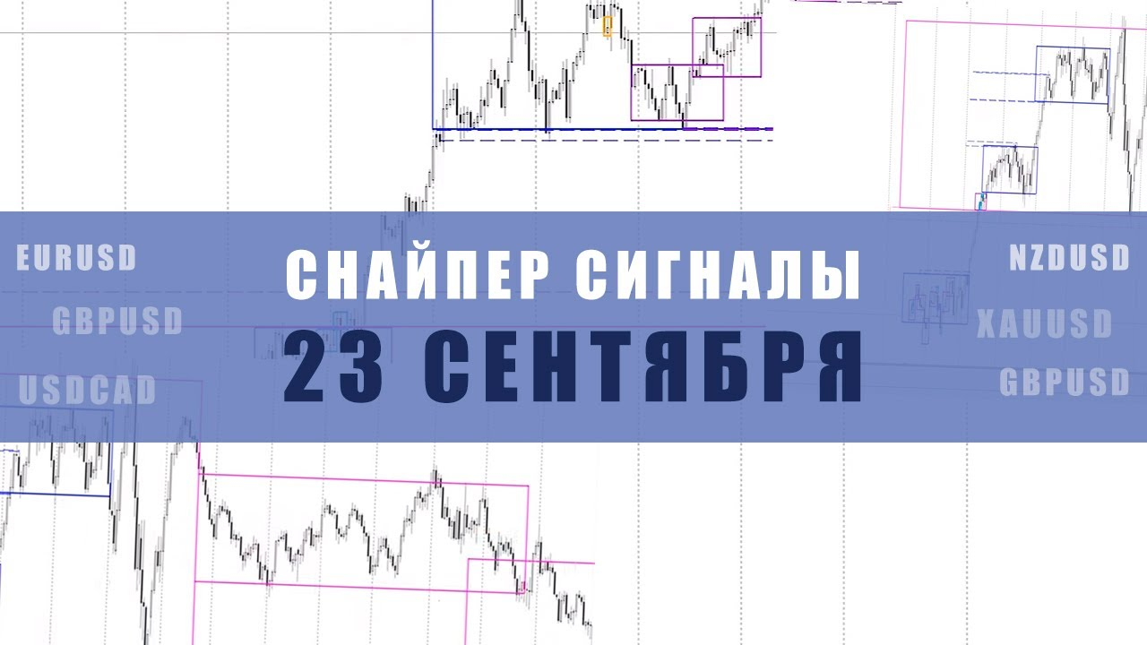 СИГНАЛЫ СНАЙПЕР НА 23 СЕНТЯБРЯ   Трейдер Ян Сикорский