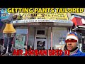 AIR JORDAN BRED XI | GETTING MY PANTS TAILORED FOR SNEAKERS