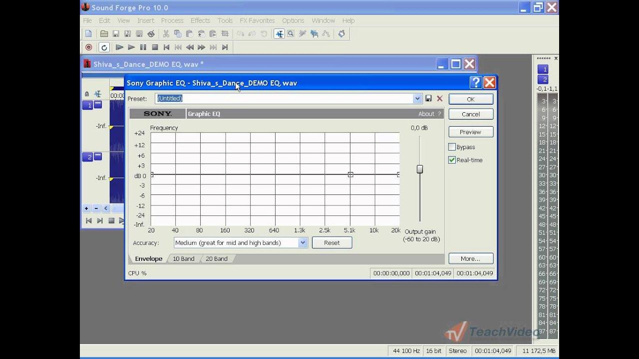 Sound Forge Pro 10 Уроки