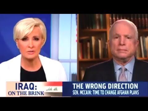 John McCain On Iraq: We Won And Obama Ruined It