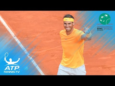 Rafael Nadal Defeats Alexander Zverev to Win Eighth Rome Title