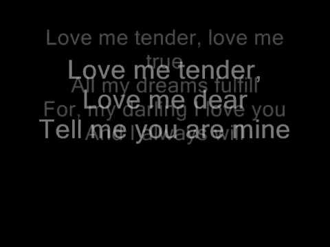 Love Me Tender  Norah Jones Lyrics