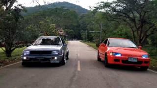 Stance Lanna - Feat.Toyota Yaris NCP91, Mitsubishi Lancer C11A, Honda Civic EG Hatchback