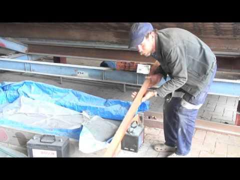 Wooden Boat Repair-Steam bending timber 2