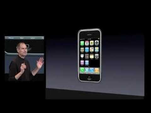 Steve Jobs introduces the App store - iPhone SDK Keynote