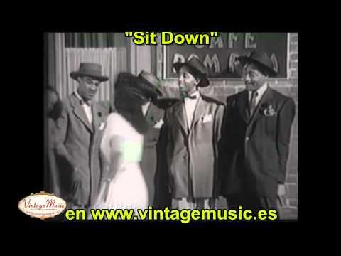 """The Delta Rhythm Boys """"Sit Down"""""""