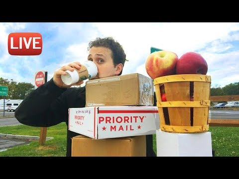 LIVE - Back on the Road - Mail Unboxing - Farmers Market - & a Sincere Statement from ME