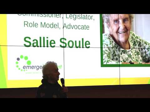 Sallie Soule receives Governor Madeleine M. Kunin Lifetime Achievement Award