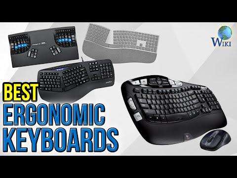 7 Best Ergonomic Keyboards 2017